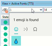 Search Fonts for Droplet.png